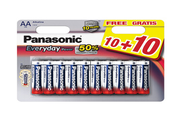 Panasonic LR06 AA Every Day Power 10+10