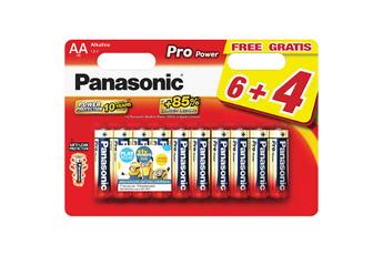 Pile LR6 6+4 MINIONS Panasonic