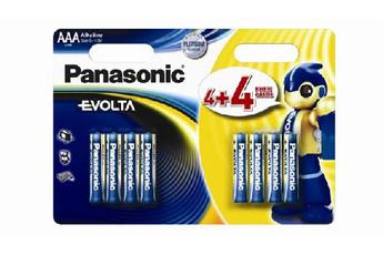 Pile LR03 AAA 4+4 Panasonic