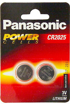 Pile CR-2025 X2 Panasonic