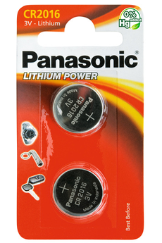 Pile PILSP CR-2016 X2 Panasonic