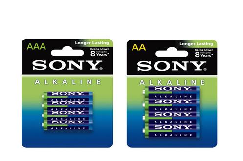 Pile Pack 60 piles : 32 LR06 AA + 28 LR03 AAA Sony