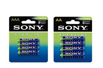 Pile Pack de 60 piles : 32AA - LR06 & 28AAA - LR03 Sony