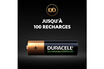 Duracell Duracell Rechargeable, lot de 4 piles rechargeables AA 2500mAh photo 4