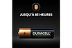 Duracell Duracell Rechargeable, lot de 4 piles rechargeables AA 2500mAh photo 5