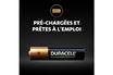 Duracell Lot de 4 piles rechargeables AAA 900mAh photo 2