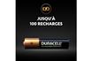 Duracell Lot de 4 piles rechargeables AAA 900mAh photo 3