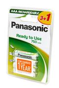 Panasonic EVOLTA AAA LR03 x4 750 mAh