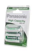 Panasonic HIGH CAPACITY C LR14 x2 2800 mAh