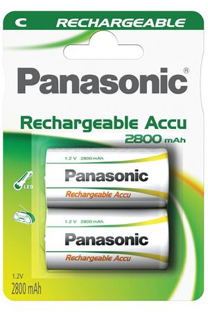 Pile rechargeable Panasonic HIGH CAPACITY C LR14 x2 2800 mAh