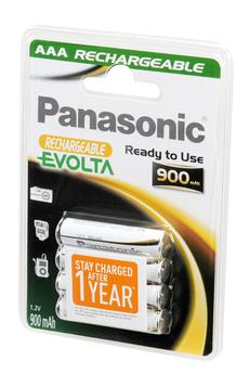 Pile rechargeable Pile rechargeable préchargée AAA Panasonic