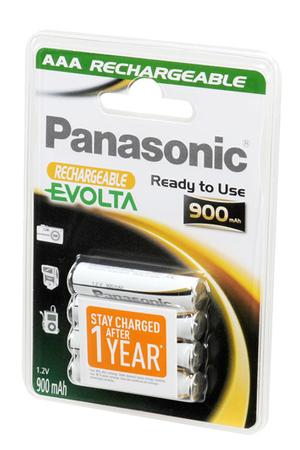 Pile rechargeable Panasonic Pile rechargeable préchargée AAA