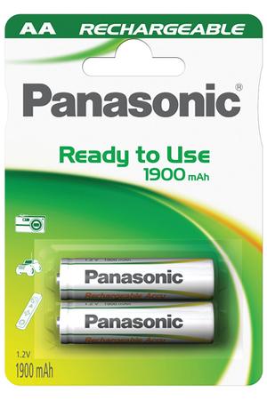 Pile rechargeable Panasonic EVOLTA AA LR6 X2 1900 mAh
