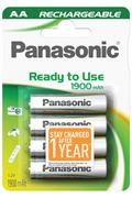 Pile rechargeable Panasonic EVOLTA AA LR6 X4 1900 mAh