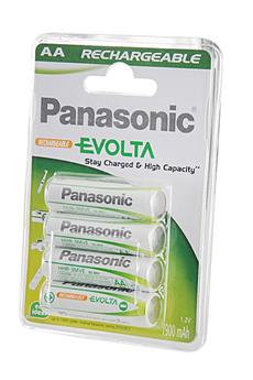 Pile rechargeable EVOLTA AA LR6 X4 1900 mAh Panasonic