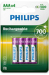 Philips PILES RECHARGEABLE AAA LR03 700 MAH photo 1