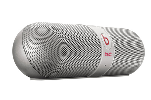 enceinte bluetooth sans fil beats pill v2 by dre silver. Black Bedroom Furniture Sets. Home Design Ideas