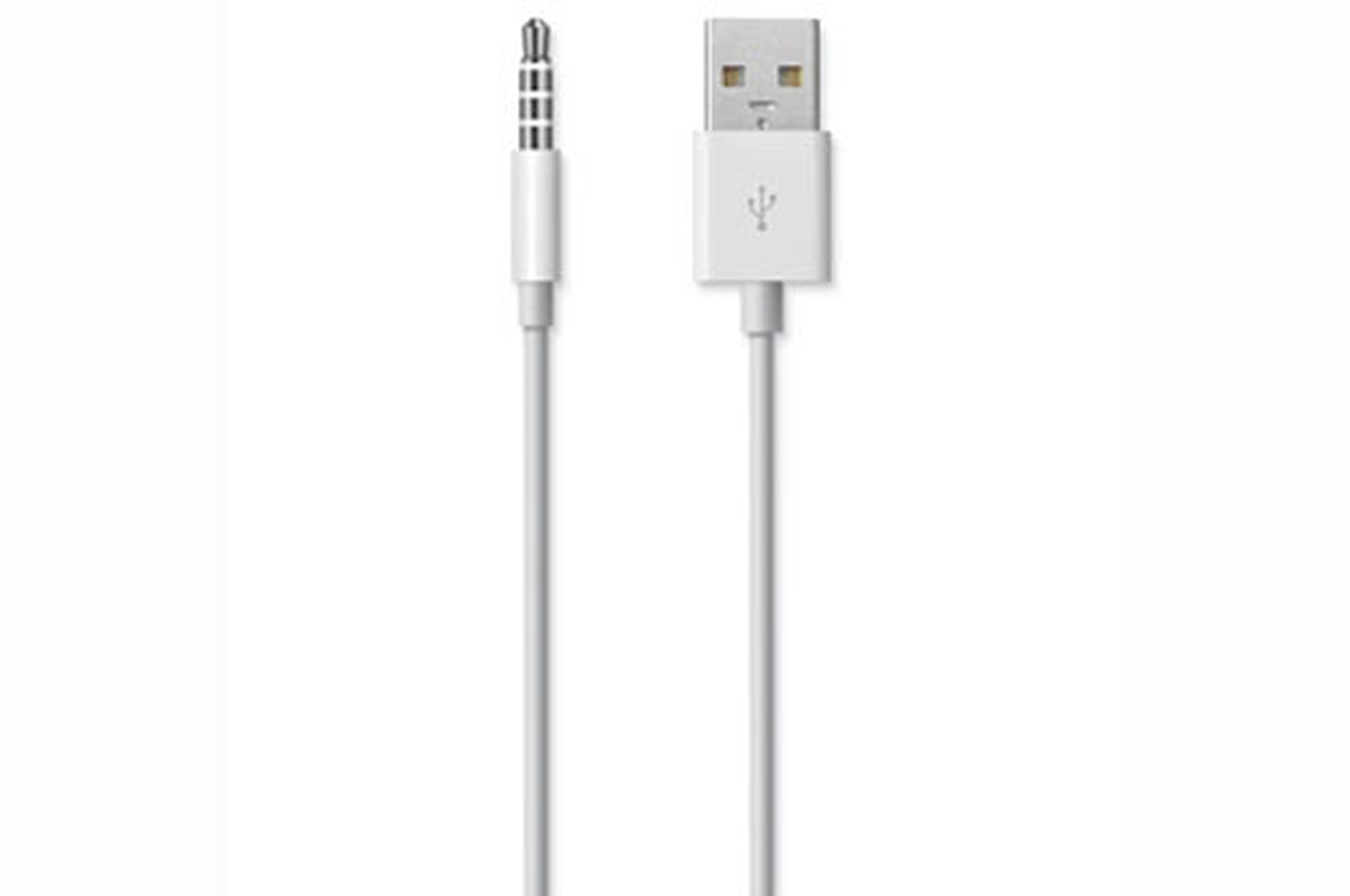 c ble connectique apple cable usb pour ipod shuffle ap ipod shuf usb 1323741 darty. Black Bedroom Furniture Sets. Home Design Ideas