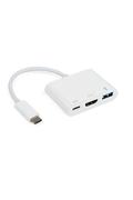 Câble / Connectique It Works Adaptateur USB-C vers HDMI/USB/USB-C