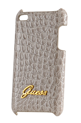 Housse protection pour ipod guess etui cuir crocodile for Housse ipod shuffle