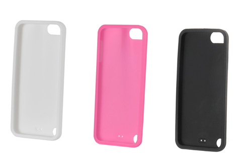 Housse protection pour ipod muvit coque silicone x3 ipod for Housse ipod shuffle