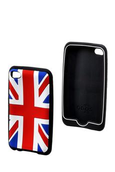"""Housse / protection pour iPod Protection souple """"Union Jack"""" Ipod Touch 4G Qdos"""