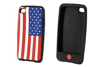 """Housse / protection pour iPod Etui de protection """"drapeau américain"""" IPOD TOUCH 4G Qdos"""