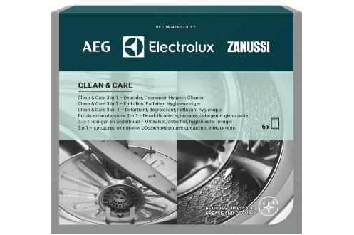 CLEAN & CARE – Détartrant/dégraissant POUR LAVE-LINGE/lave-vaisselle  12 SA