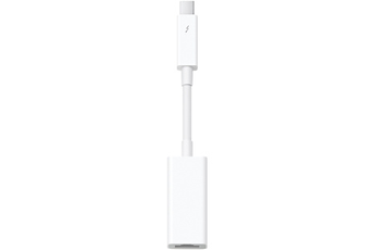 Connectique pour Mac ADAPTATEUR THUNDERBOLT VERS ETHERNET GIGABIT Apple