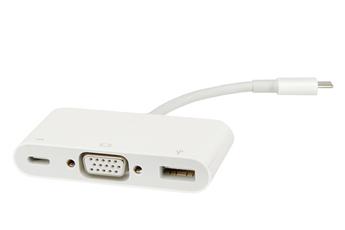 Connectique pour Mac Adaptateur multiport VGA USB-C (MJ1L2ZM/A) Apple