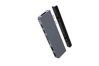 Connectique pour Mac Hyperdrive HUB USB-C 7 EN 2 GRIS SIDERAL