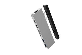 Connectique pour Mac Hyperdrive HUB USB-C 7 EN 2 SILVER