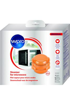 Plat vapeur universel EasyCook 1,5 l de WPRO est composé : - 1 plat rond - 1 panier vapeur - 1 couvercle Idéal pour décongeler, réchauffer ou cuisiner en quelques minutes, il est spécialement conçu pour tous les types de micro-ondes. Il préserve la saveur