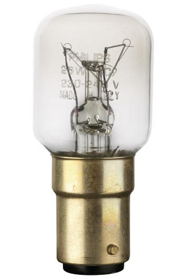 ampoule wpro ampoule pour micro ondes b15 25w 1407597 darty. Black Bedroom Furniture Sets. Home Design Ideas