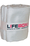 Lifebox COUVERTURE ANTI FEU
