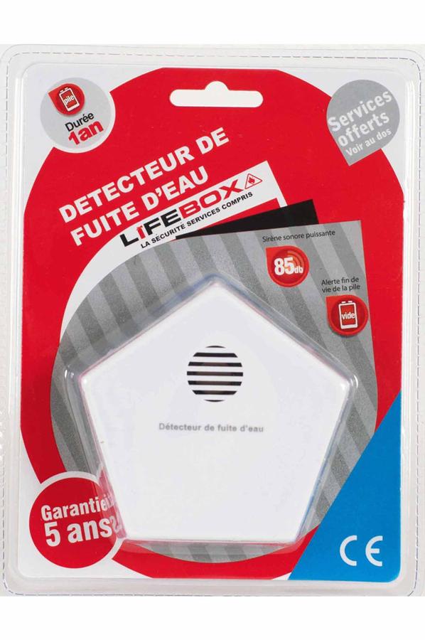 d tecteur de fum e lifebox detecteur de fuite d 39 eau ce 1 an detce01 3598993 darty. Black Bedroom Furniture Sets. Home Design Ideas