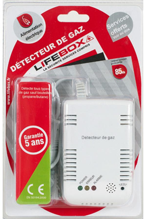d tecteur de fum e lifebox detecteur de gaz de ville ce detecteur 3599019 darty. Black Bedroom Furniture Sets. Home Design Ideas