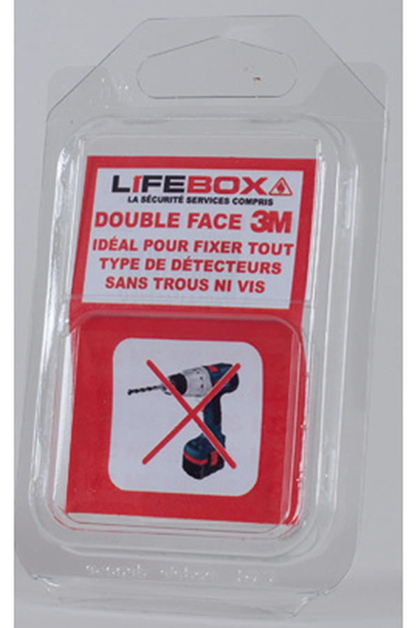 D tecteur de fum e lifebox double face 3560546 darty - Detecteur de fumee lifebox ...