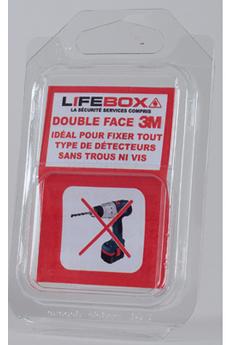 Détecteur de fumée DOUBLE FACE Lifebox