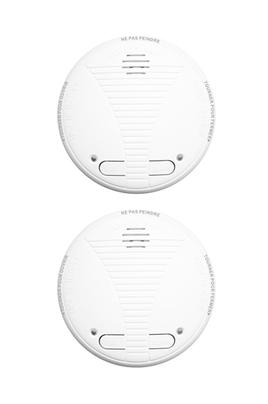 d tecteur de fum e lifebox lot 2 detecteurs de fumee ce 1 an connecty connecty 3598969. Black Bedroom Furniture Sets. Home Design Ideas