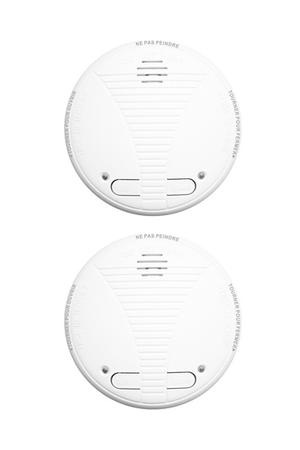 d tecteur de fum e lifebox lot 2 detecteurs de fumee ce 1 an connecty connecty darty. Black Bedroom Furniture Sets. Home Design Ideas