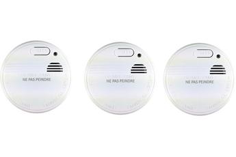 Détecteur de fumée PACK 3 DÉTECTEURS DE FUMÉE 520032 NF 1 an Otio