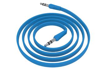 Autre accessoire pour baladeur et tablette CÂBLE JACK 3,5MM MÂLE/MÂLE Bleu Ryght