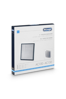 Accessoire climatiseur / ventilateur FILTRE 2 en 1 AC100/AC150 Delonghi
