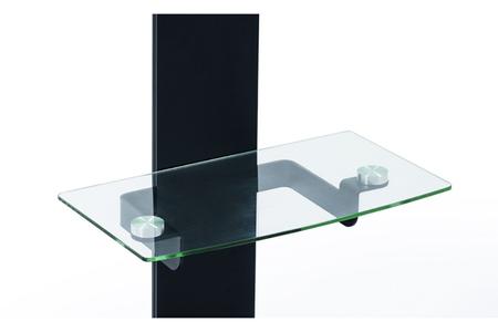 accessoire pour support tv erard support tablette noir pour meuble will darty. Black Bedroom Furniture Sets. Home Design Ideas