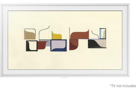 accessoire pour support tv samsung cadre 55 blanc frame. Black Bedroom Furniture Sets. Home Design Ideas
