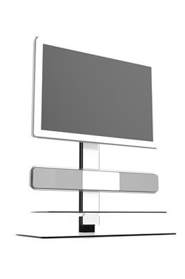 meuble tv ateca at 314 blanc 2784556. Black Bedroom Furniture Sets. Home Design Ideas
