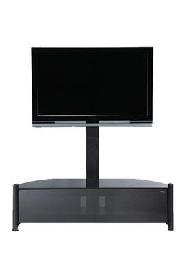 les concepteurs artistiques meuble tv verre darty. Black Bedroom Furniture Sets. Home Design Ideas