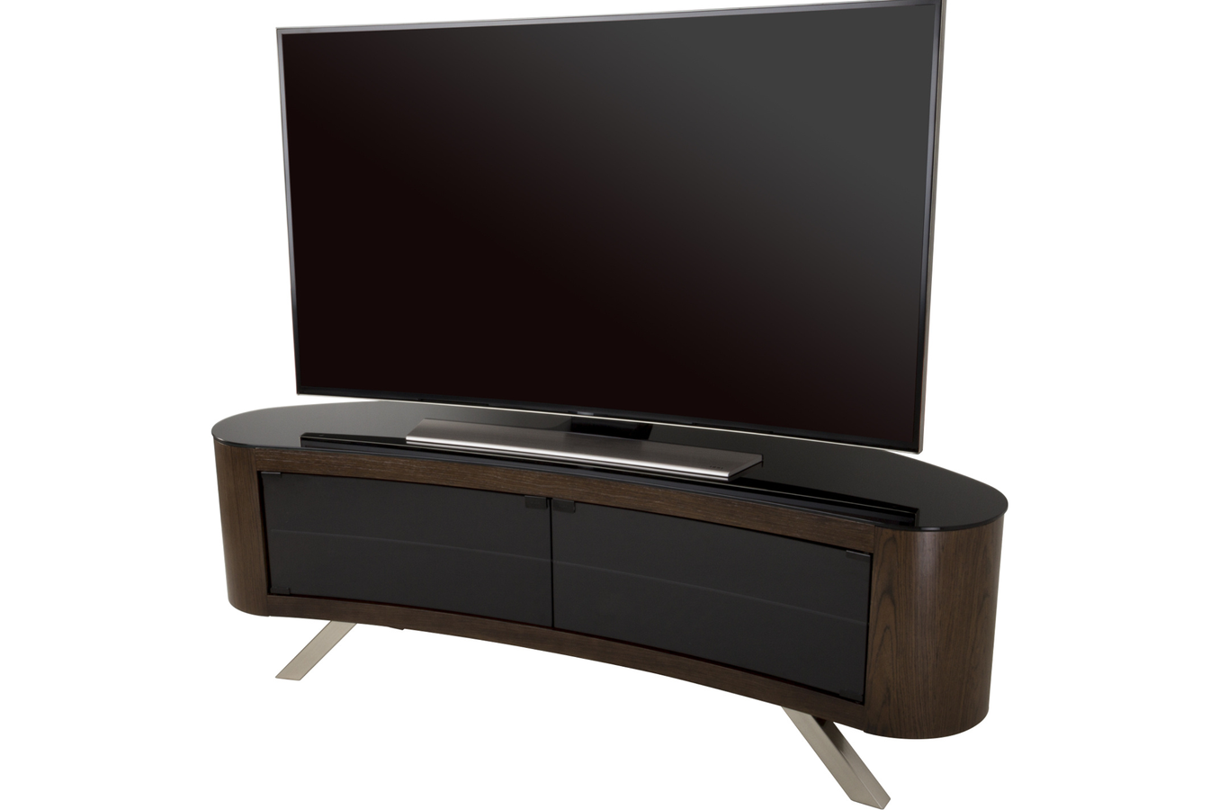 meuble tv affinity fs1500bayw noyer fs1500bayw meuble tv avf support t l vision t l viseur. Black Bedroom Furniture Sets. Home Design Ideas