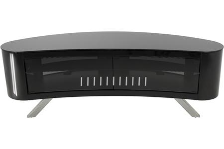 meuble tv avf fs15bayxb noir brillant darty. Black Bedroom Furniture Sets. Home Design Ideas
